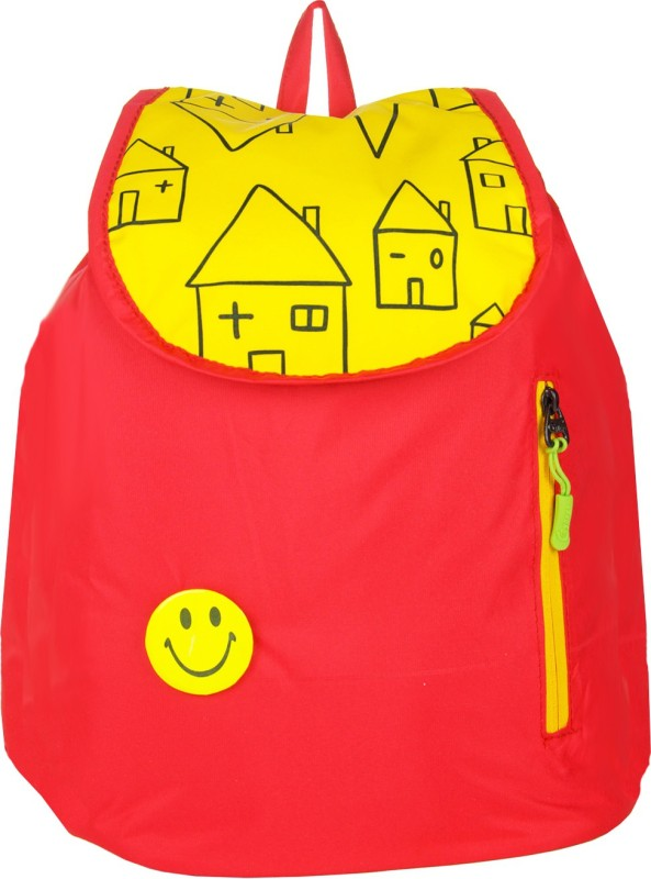 JG Shoppe JGSTS 6 L Backpack(Red)