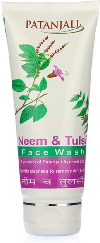 Patanjali Neem Tulsi Face Wash(60 g)