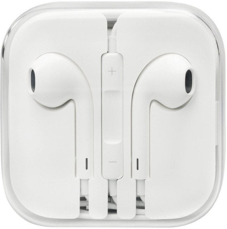 Parbati enterprise High Quality Earphone Wired Headset with Mic(White, In the Ear)