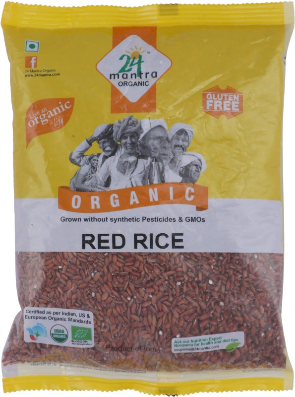 24 Mantra Organic Red Rice(1 kg)