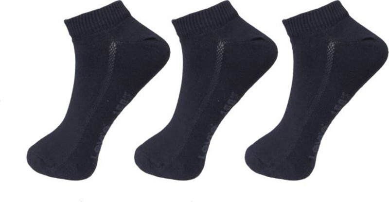 Levis Men Ankle Length Socks(Pack of 3)