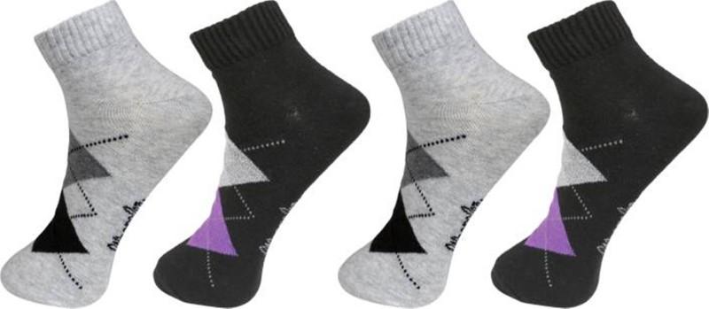Wrangler Men Solid Ankle Length Socks(Pack of 4)