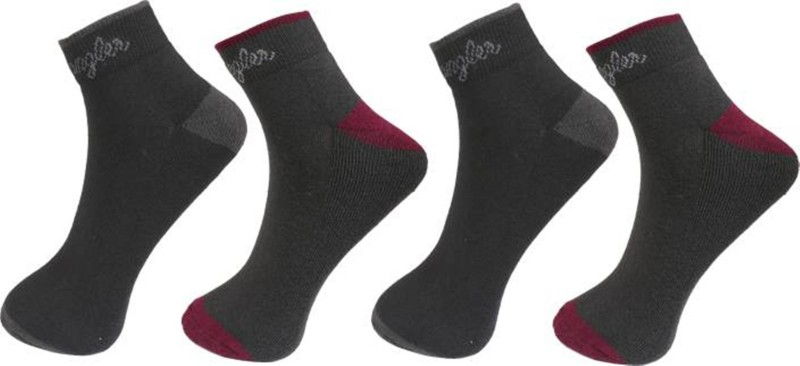 Wrangler Mens Ankle Length Socks(Pack of 4)