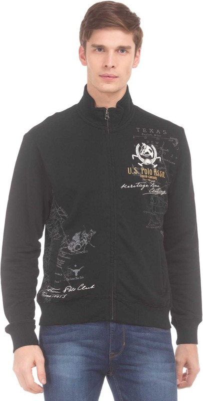 U.S. Polo Assn Full Sleeve Graphic Print Men Sweatshirt