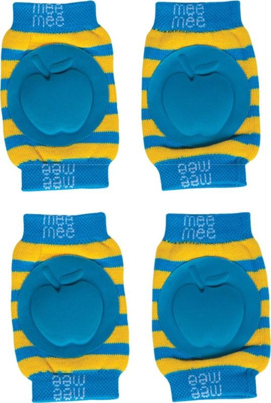 MeeMee Soft Baby Knee/Elbow Pads - (Pack of 2,Blue) Blue Baby Knee Pads(Apple)