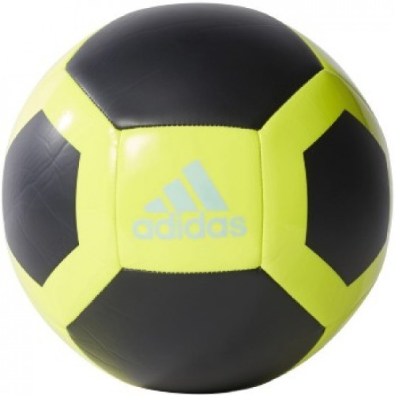 ADIDAS Glider ii Football - Size: 5(Pack of 1, Yellow, Blue)