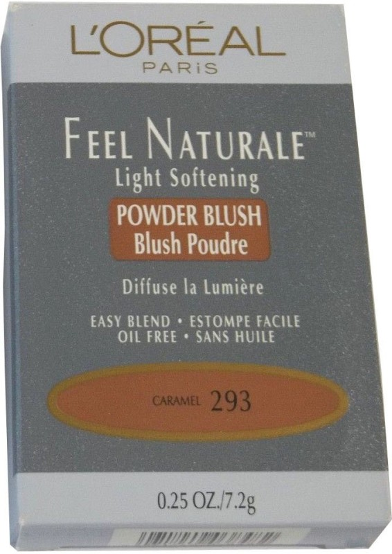 LOreal Paris Feel Naturale Powder Blush(Caramel - 293)