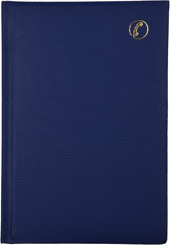 Atlas Premium Tele. Index Regular Telephone Diaries 196 Pages(Blue)