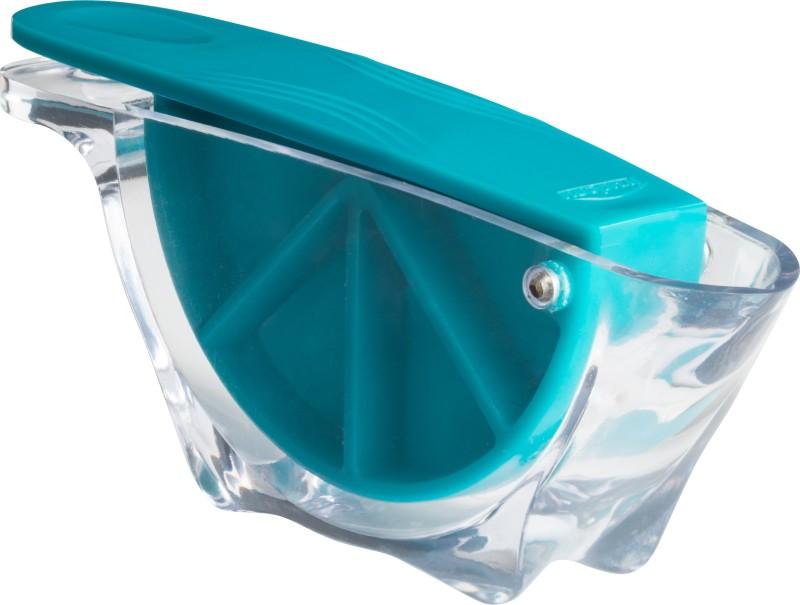 TRUDEAU MAISON CITRUS JUICER Polypropylene Hand Juicer(Blue Pack of 1)