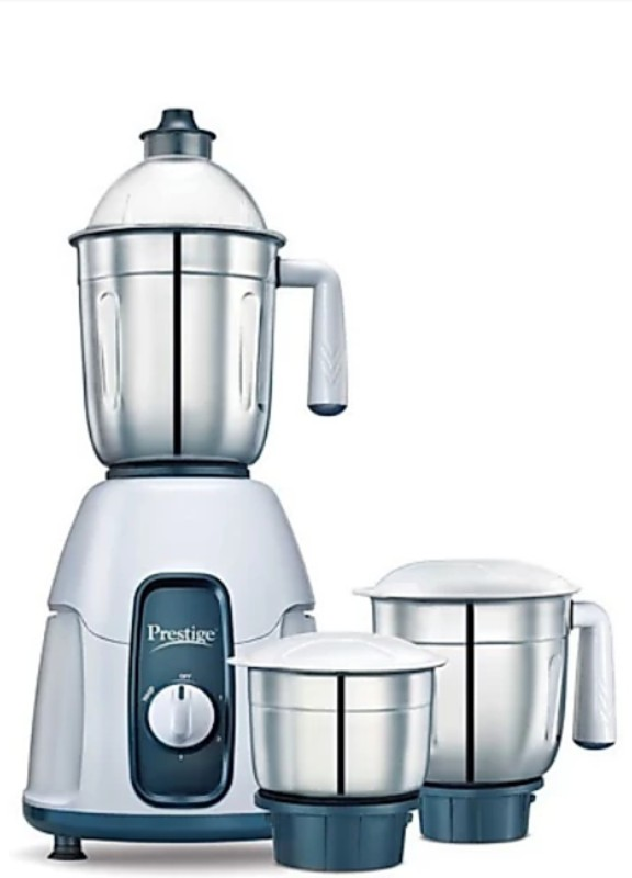 Prestige Stylo 750 Juicer Mixer Grinder(Pencil grey, 3 Jars)