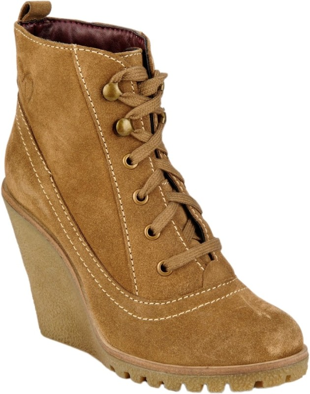 Delize Boots For Women(Tan)