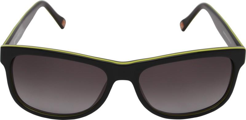 BOSS ORANGE Rectangular Sunglasses(Grey)