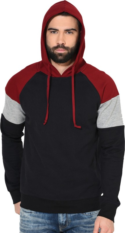 Gritstones Full Sleeve Solid Mens Sweatshirt