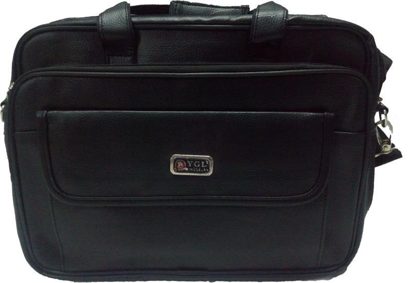 A-ONE 16 inch Laptop Messenger Bag(Black)