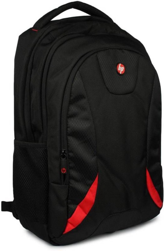 HP 17.3 inch, 15.6 inch Expandable Laptop Backpack(Black, Red)