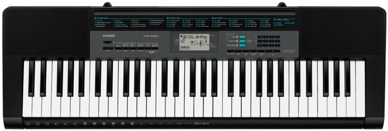 Casio 2550 CTK 2550 Digital Portable Keyboard(61 Keys)