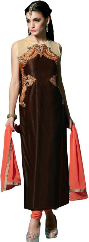 ellis harvey Embroidered Kurta & Salwar(Stitched)