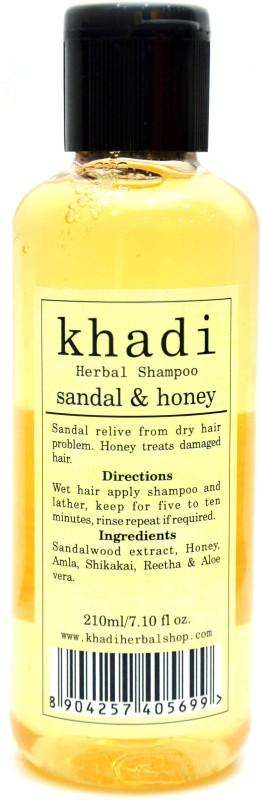 Khadi Sandal & Honey Shampoo(210 ml)
