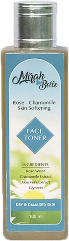 Mirah Belle Naturals Rose - Chamomile Skin Softening Face Toner(100 ml)