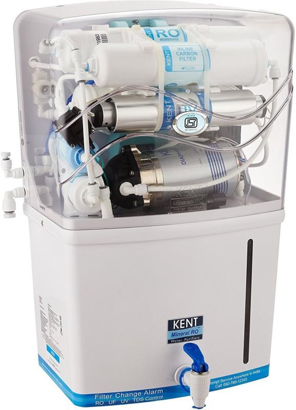 Kent grand plus 8 L RO + UV + UF + TDS Water Purifier(White)