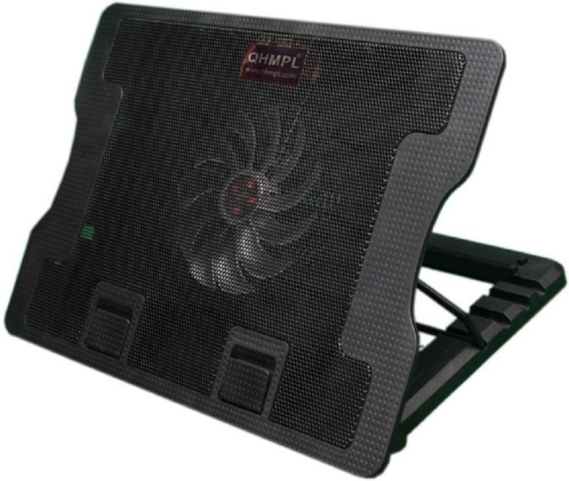 Quantum QHMPL 350 BLACK 1 Fan Cooling Pad(Black)