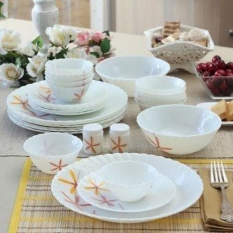 Laopala autumn flower Dinner Set(Opalware)