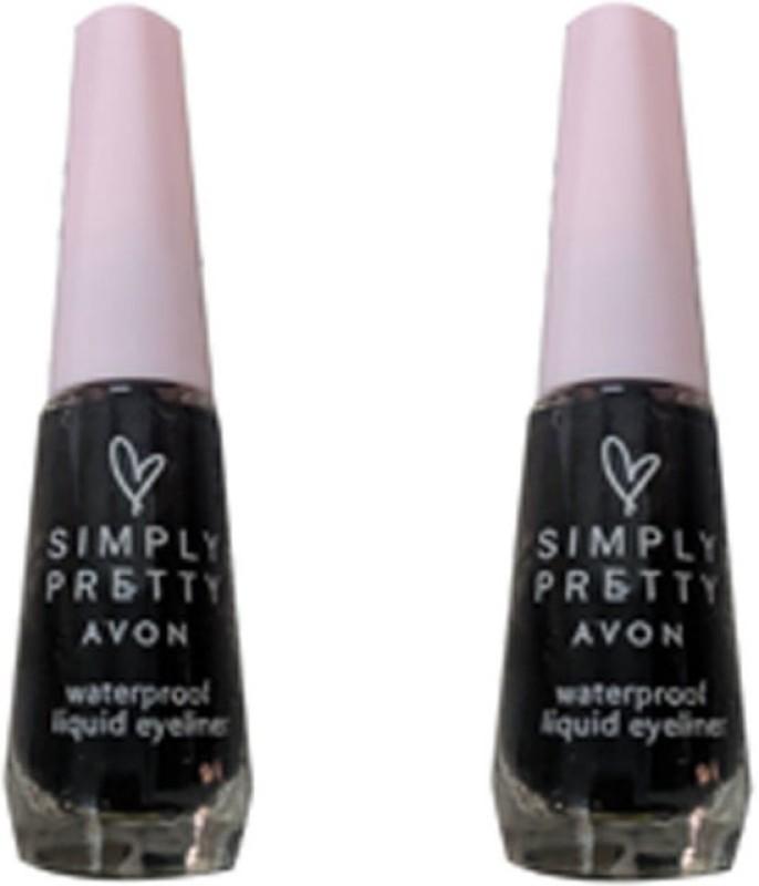 Avon Simply Pretty Waterproof Liquid Eyeliner 7.5 g(Blackest Black)