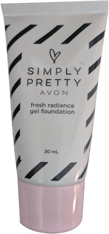 Avon Simply Pretty Fresh Radiance Gel Foundation(Light Beige, 30 ml)