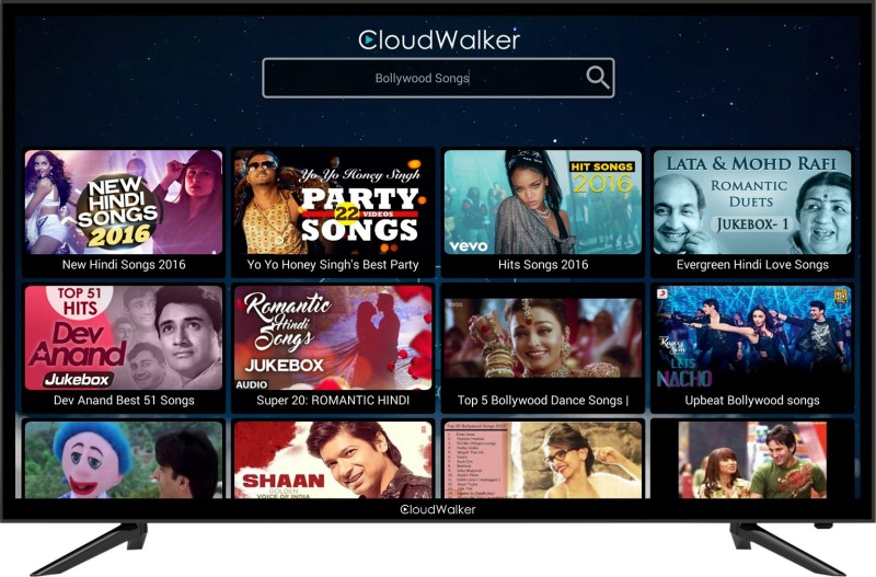 CloudWalker 100cm (39.37 inch) Full HD LED Smart TV(Cloud TV 39SF)