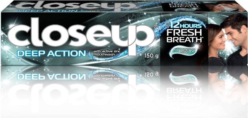 Closeup Deep Action Eucalyptus Mint Toothpaste(150 g)