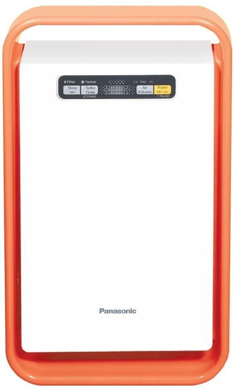 Panasonic F-PBJ30ADD Portable Room Air Purifier(White, Orange)