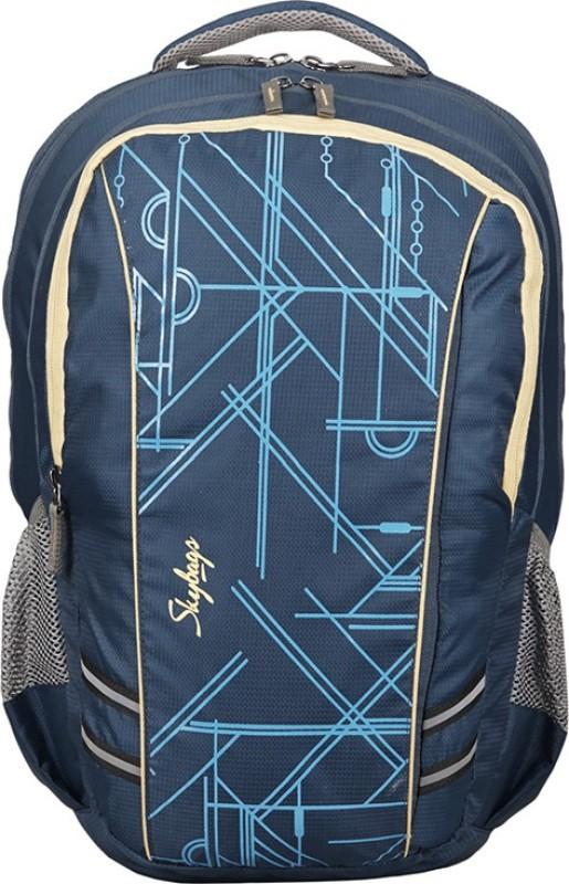 Skybags Footloose Gizmo 4 Laptop Backpack Blue 27 L Backpack(Blue)
