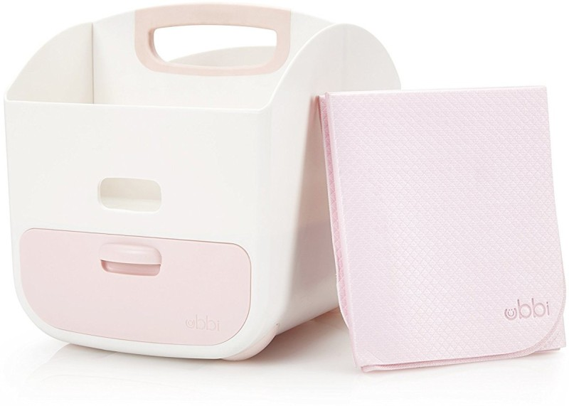 UBBI Diaper Caddy - Light Pink Diaper Bag Dispenser(1 Bags)