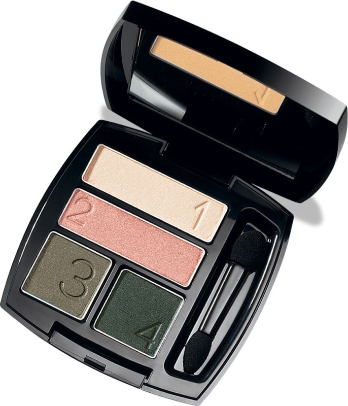 Avon True Color Eyeshadow Quad (IN) - Vibrant Spice 5 g(VIBRANT SPICE)