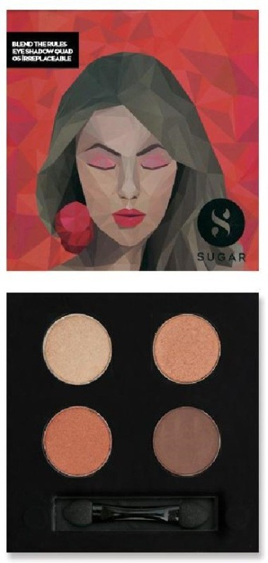 Sugar Blend The Rules Eyeshadow Quad 05 Irreplaceable 5 g(Copper & Gold)