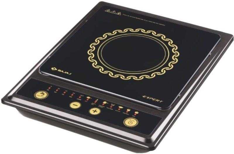 Bajaj expert Induction Cooktop(Black, Push Button)