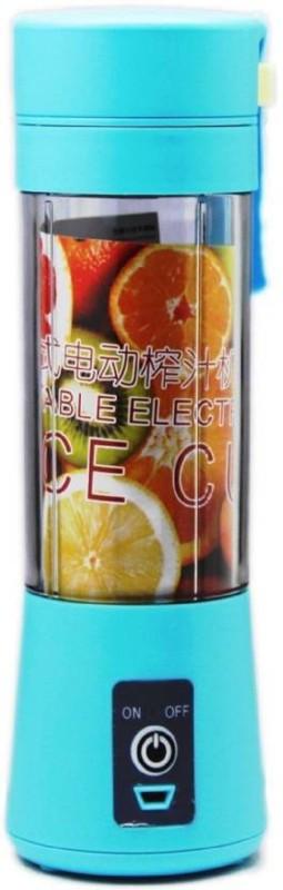 Karma Portable USB Rechargeable Blender 12 Juicer Mixer Grinder(Multicolor, 1 Jar)