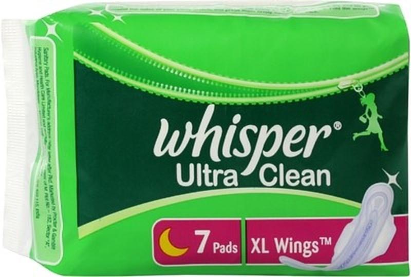 Whisper Ultra Clean Sanitary Pad Sanitary Pad