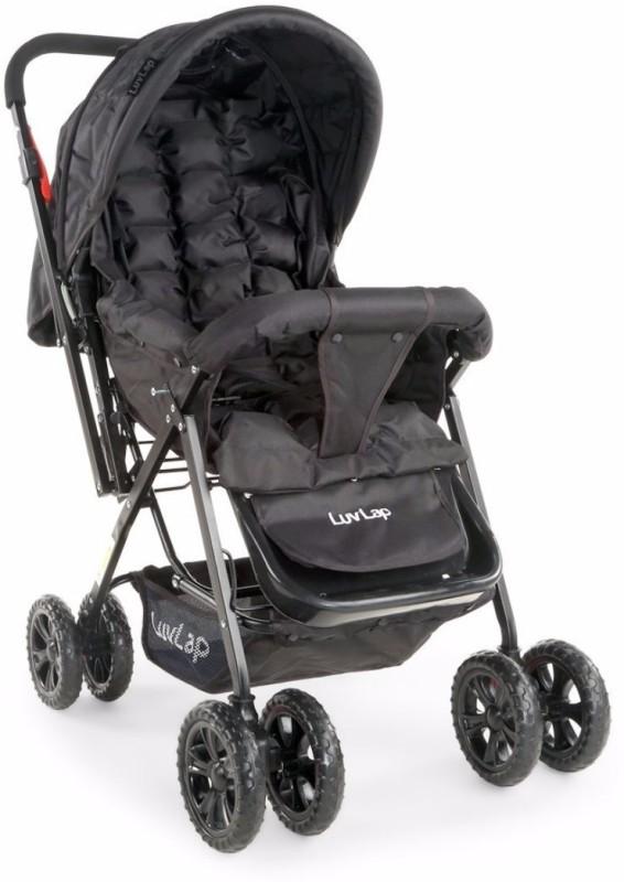 LuvLap LuvLap Blossom Baby Stroller - Black(3, Black)