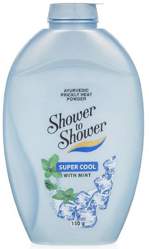 Shower to shower Super cool Mint Talc(150 g)