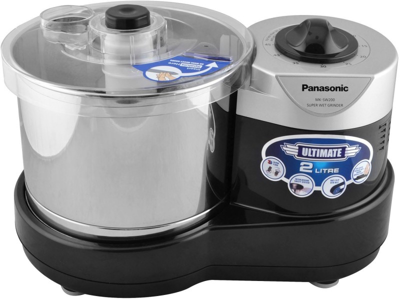 Panasonic MK-SW200BLK Wet Grinder(Black)