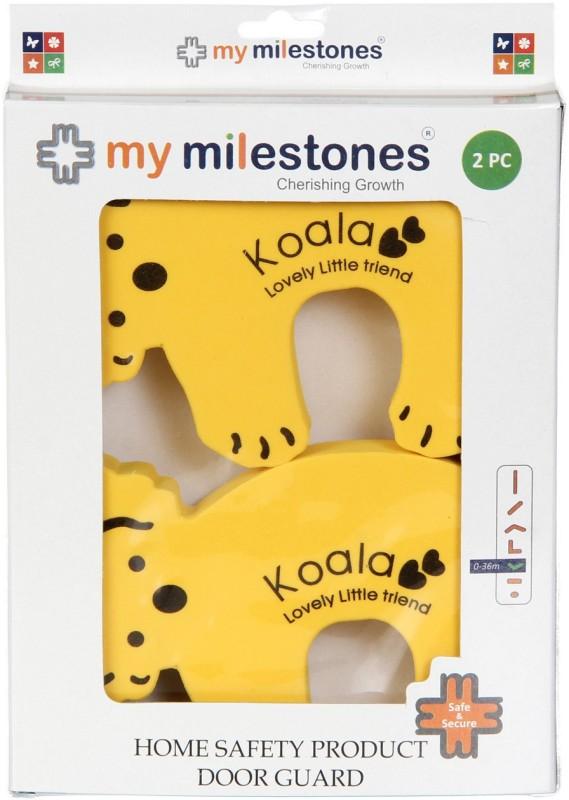 My Milestones Home Safety Product Door Guard - Koala Bear 2pc set(Yellow)