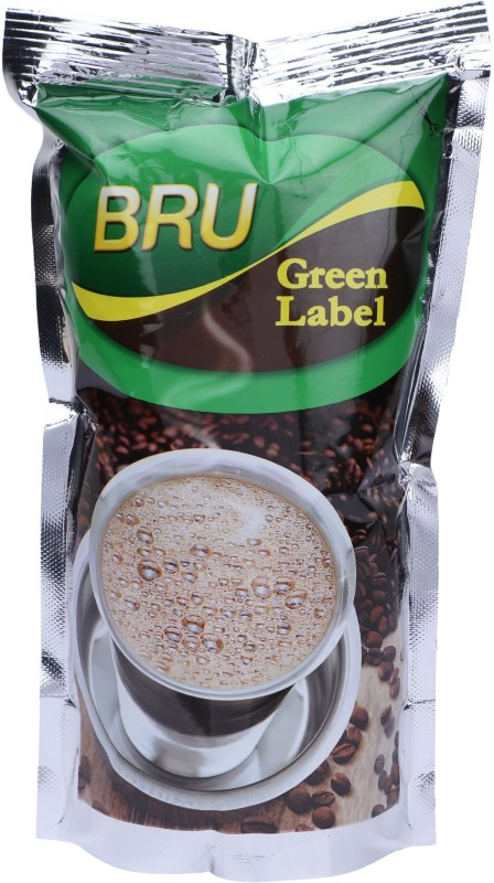 BRU Green Label Roast & Ground Coffee(200 g, Chikory Flavoured)