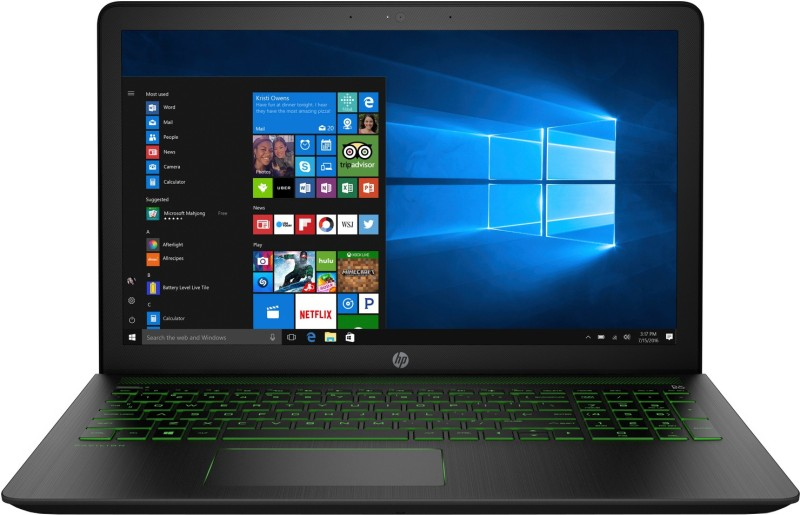 HP Pavilion Power Core i5 7th Gen - (8 GB/1 TB HDD/Windows 10 Home/4 GB Graphics/NVIDIA Geforce GTX 1050) 15-cb518TX Gaming Laptop(15.6 inch, SHadow Black, 2.27 kg, With MS Office)