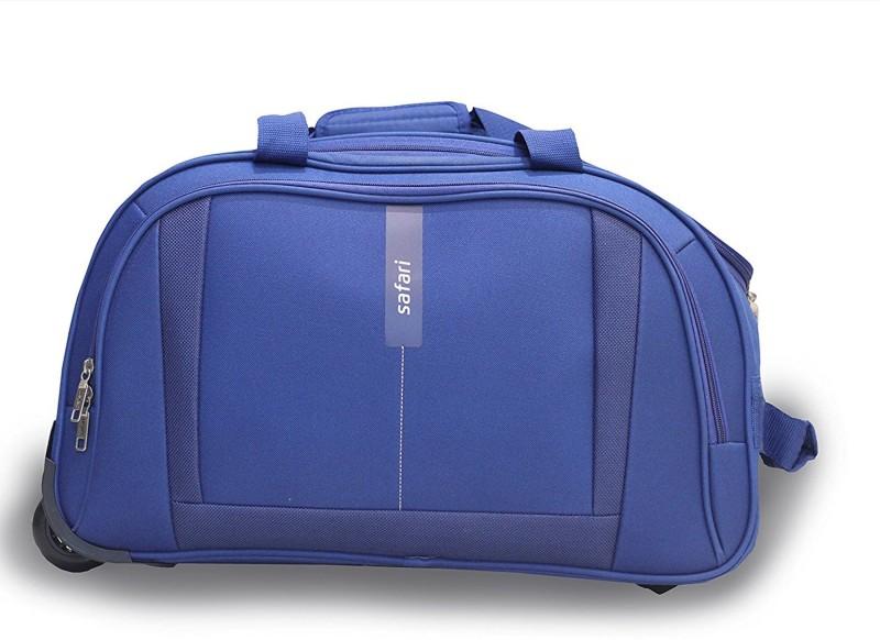 Safari Revv RDFL BIG 24 inch/60 cm Duffel Strolley Bag(Blue)