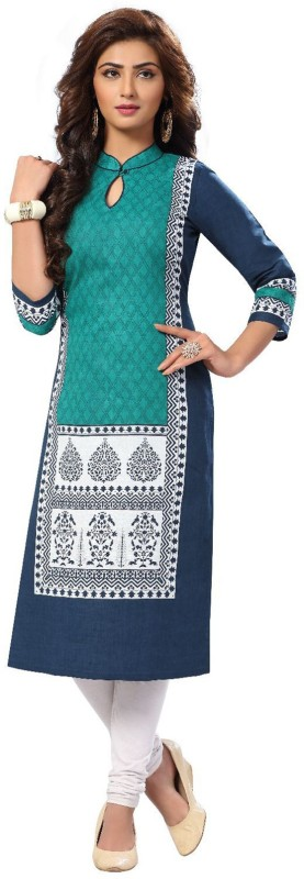 Giftsnfriends Cotton Printed Dress/Top Material(Un-stitched)