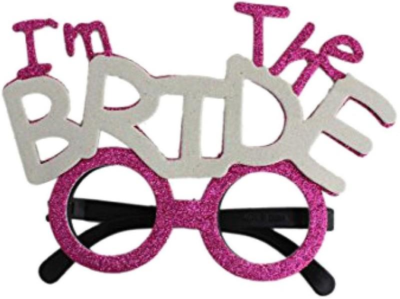 Shop Online I 'm The Bride Eye Glasses Squash Goggles(Multicolor)