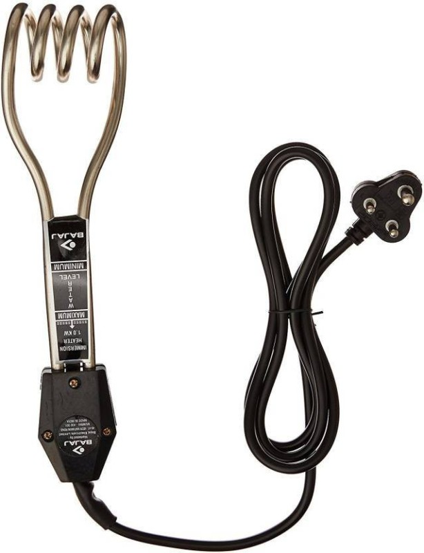 Bajaj 1000 W Electric Immersion Water Heater Rod 1000 W Immersion Heater Rod(Water)