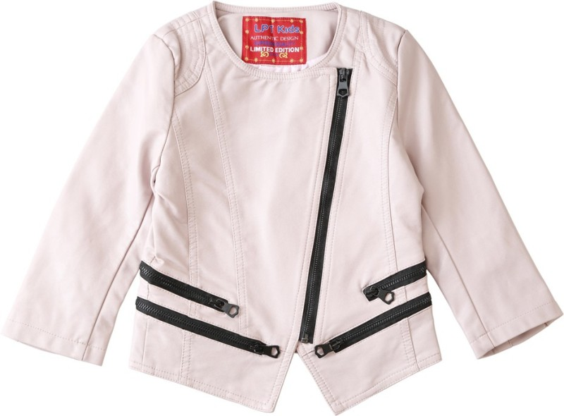 Lilliput Full Sleeve Solid Girls Jacket