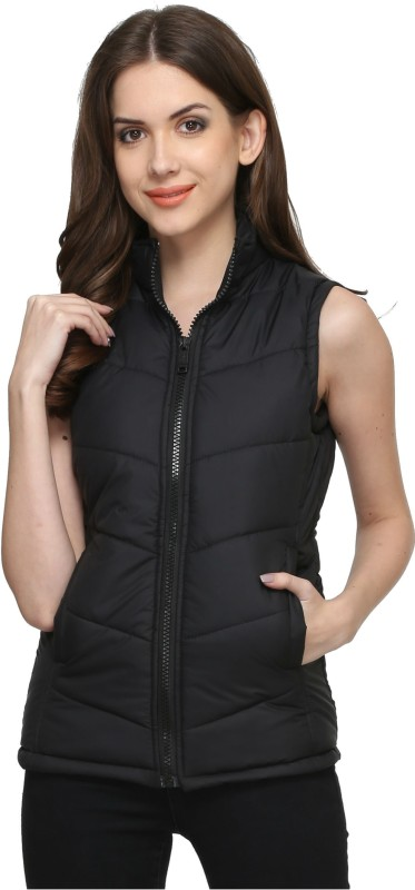 Thinline Sleeveless Solid Women Quilted Jacket